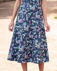 June Floral Pure Cotton Skirt